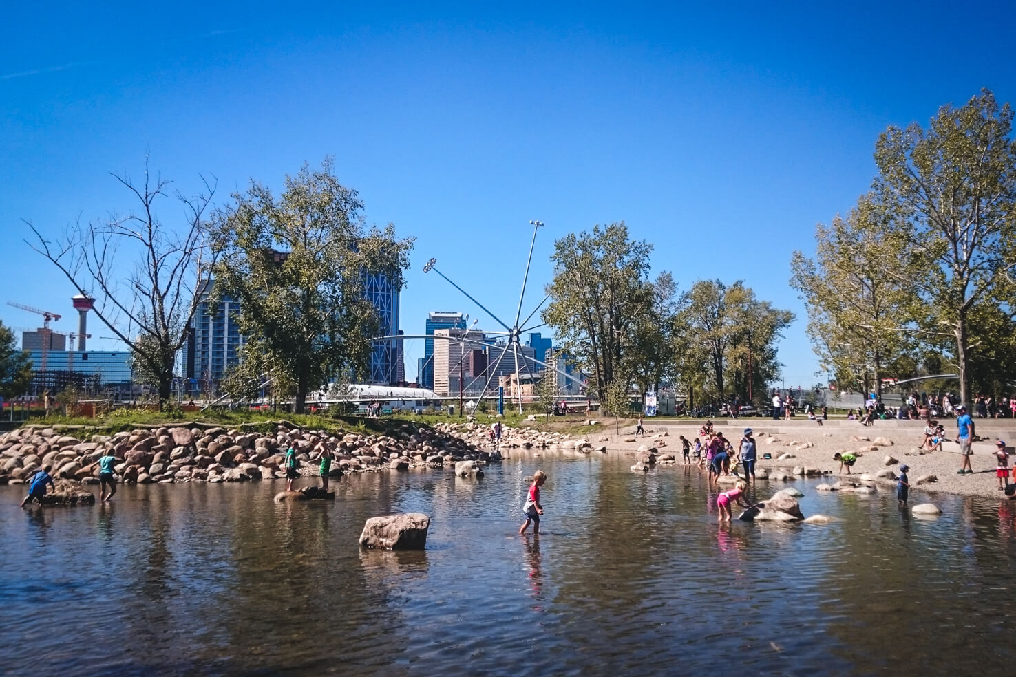 Things to do in Calgary in summer - St. Patrick's Island Park