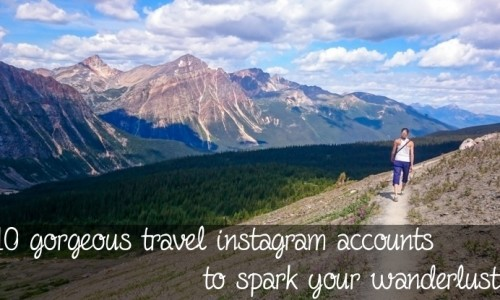 Gorgeous travel instagram accounts