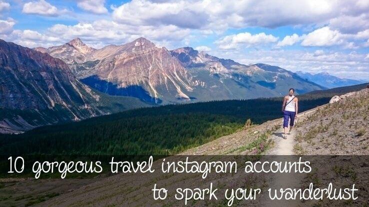 Gorgeous travel instagram accounts
