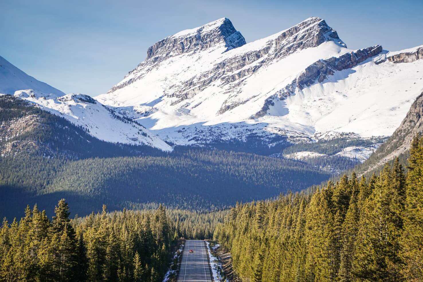 Icefields Parkway itinerary - Icefields Parkway