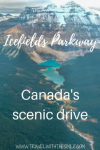 One of the world's most scenic drives. Magnificent, that's the word that comes to my mind when I think of the Icefields Parkway. Road trip everybody loves! | Banff National Park | Jasper National Park | Lake Louise | Canada | Canadian Rockies | Things to do in Banff | Icefields Parkay | #canada #banff #banffnaionalpark #jaspernationalpark #canadianrockies #adventuretravel