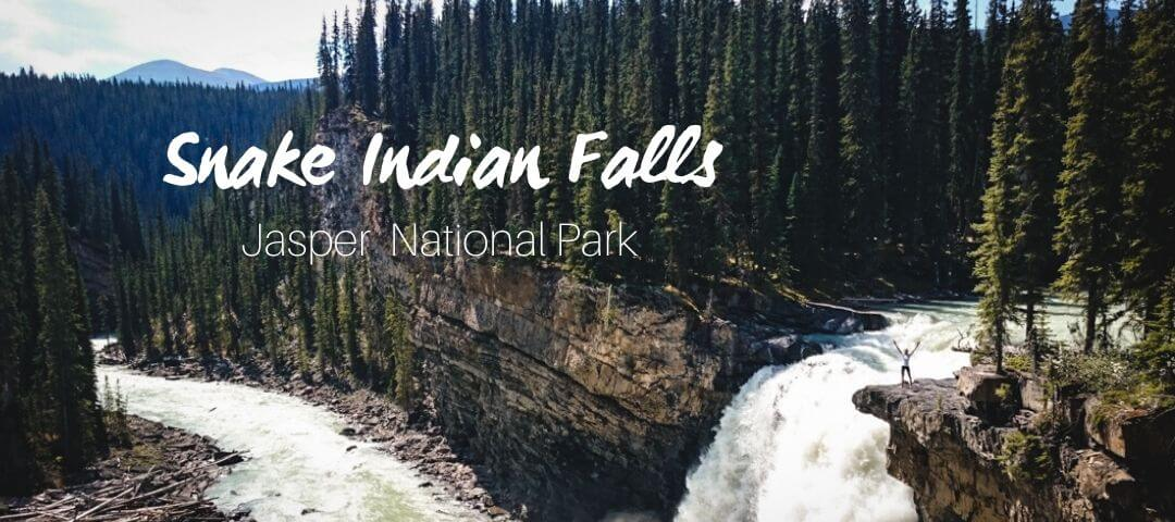 Snake Indian Falls, off the Beaten Path in Jasper National Park