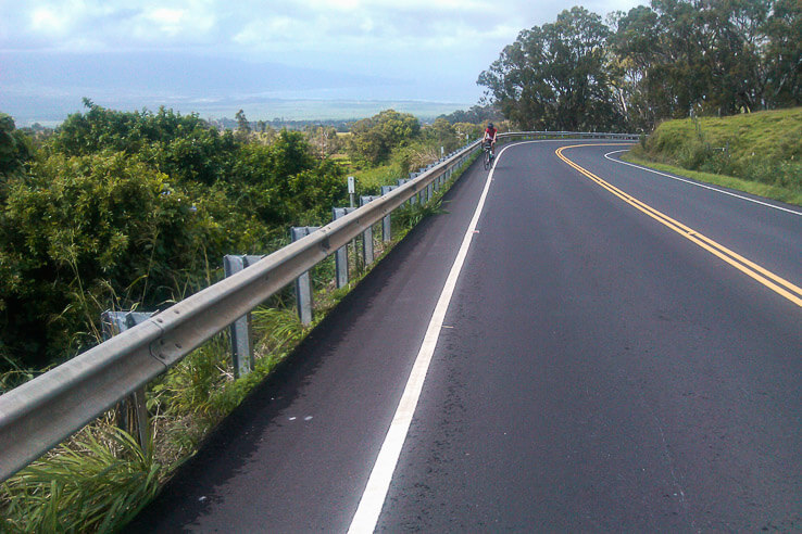 biking Haleakala volcano Maui-5