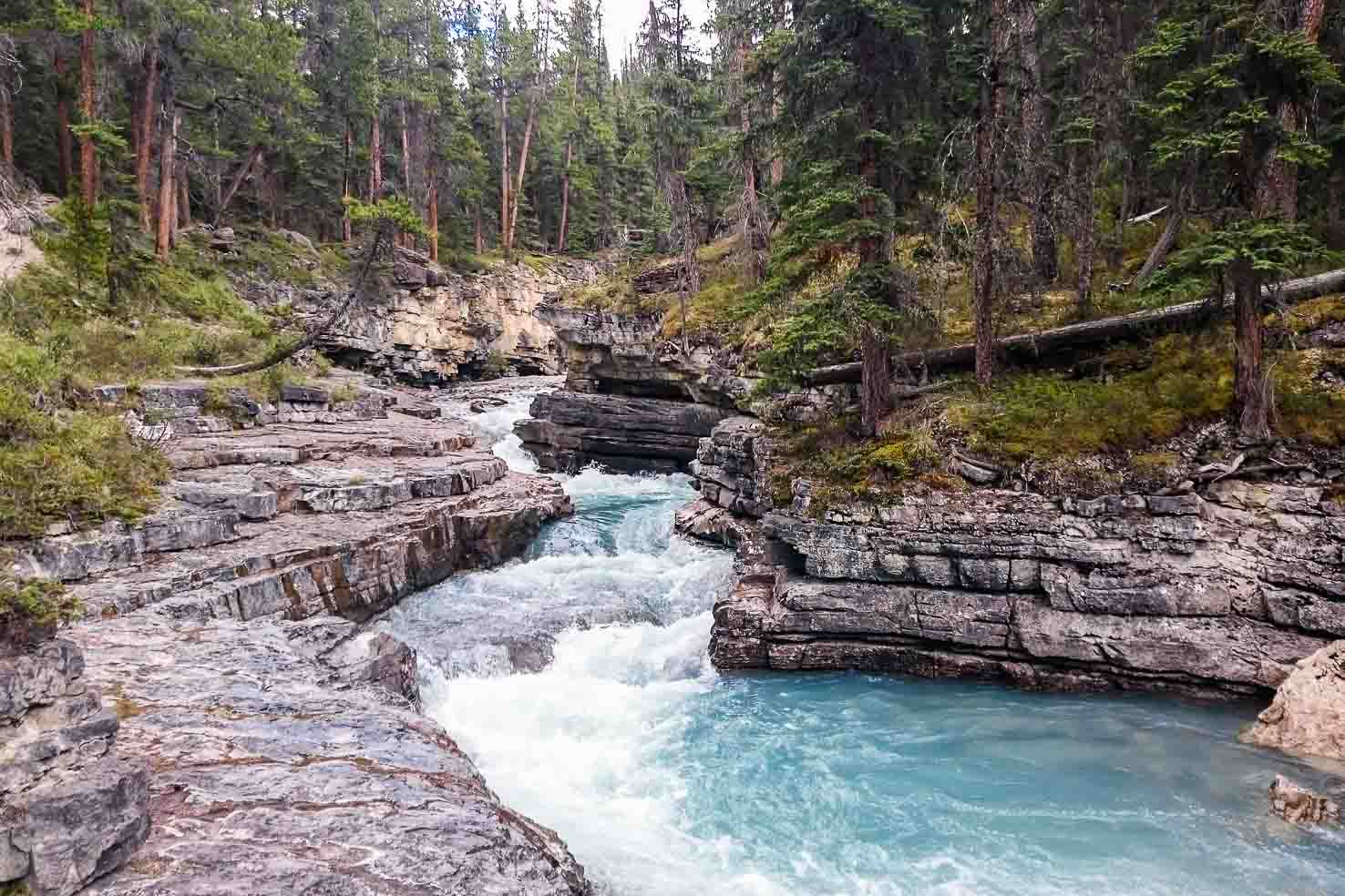 Icefields Parkway itinerary - Stanley Falls