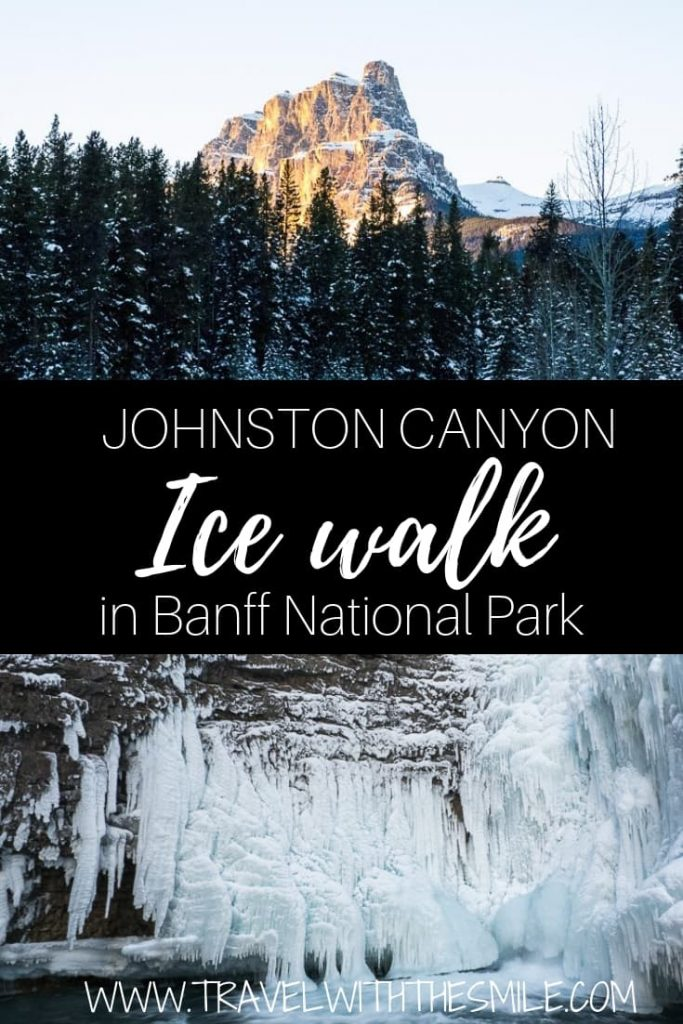 Ice Walk in Johnston Canyon is truly winter wonderland of Canadian Rockies. Check out the pictures to see yourself. | Johnston Canyon | Banff National Park | Canada | Canadian Rockies | what to do in Banff | winter activities in Banff | winter in Banff | #winter #banff #banffnationalpark #canada #canadianrockies #adventure #outdoors