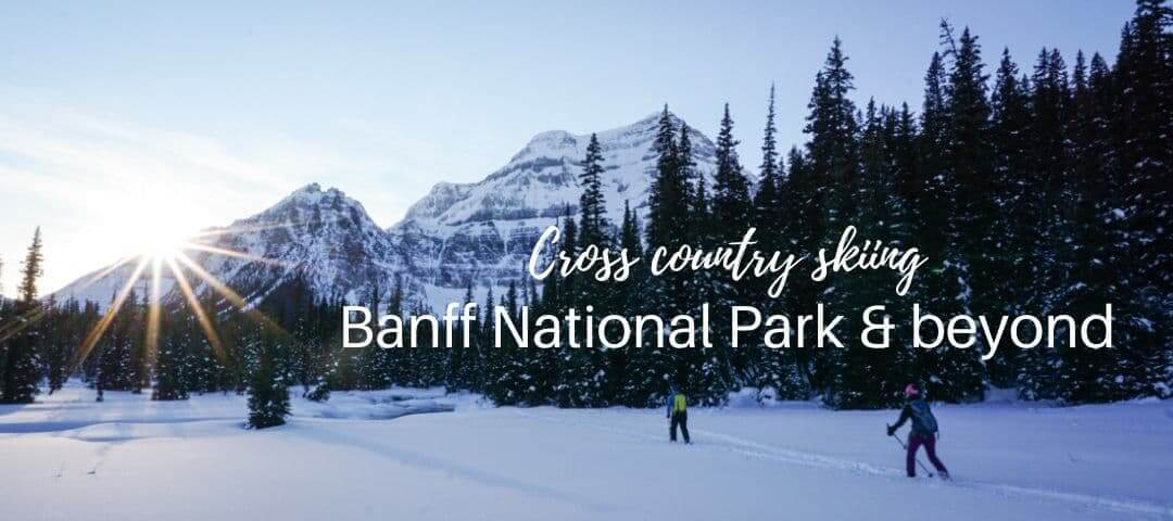 Cross country ski trails in Banff National Park