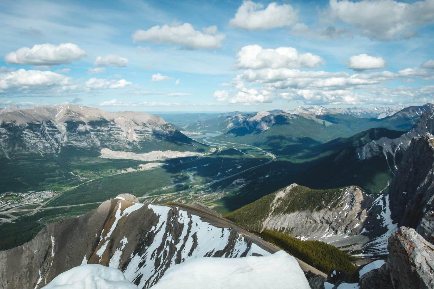 Ha Ling Peak Hike vs Mount Lawrence Grassi