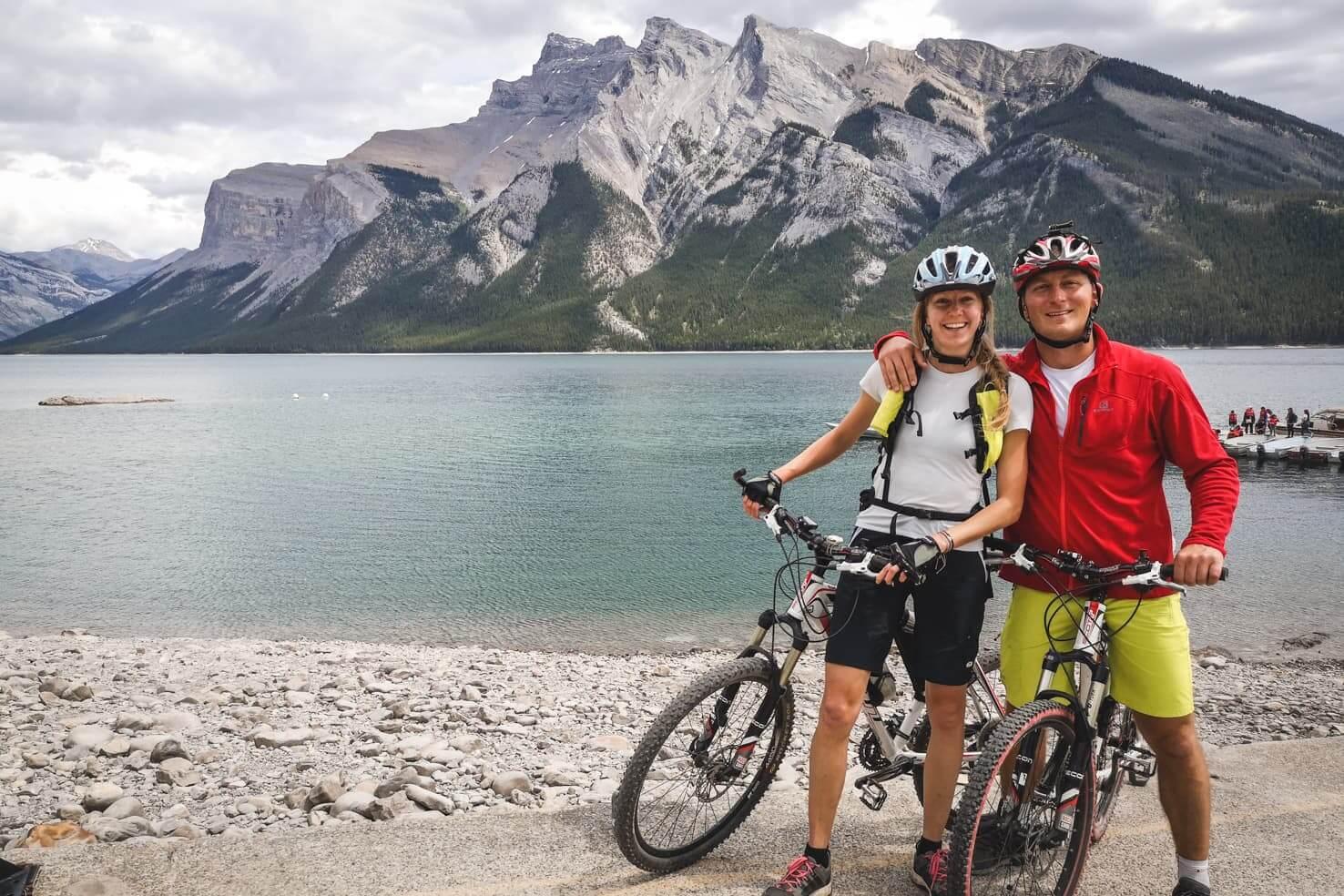 Bike trails around Banff - Lake Minnewanka Trail