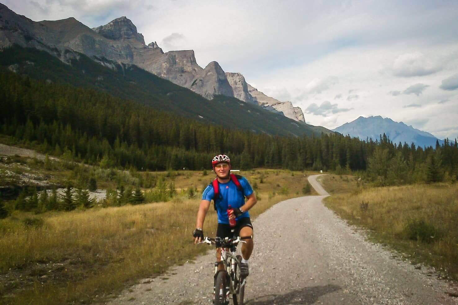 Bike trails around Banff - Canmore Nordic Centre