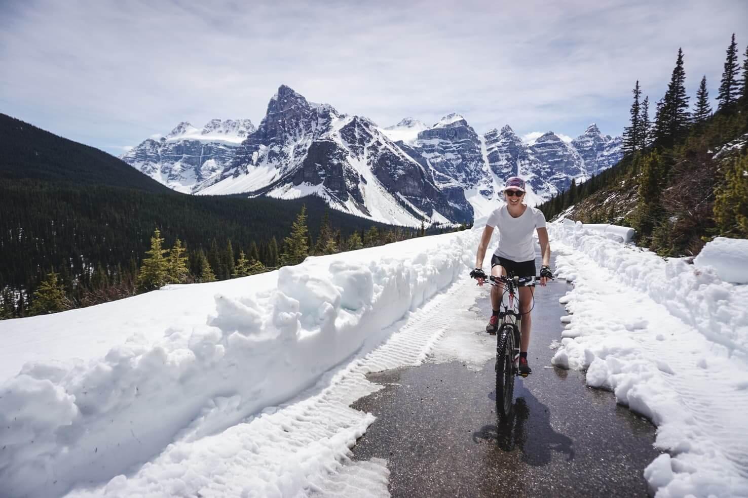 Bike trails around Banff - Moraine Lake-2