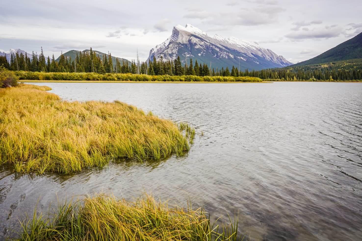 Bike trails around Banff - Vermilion Lakes