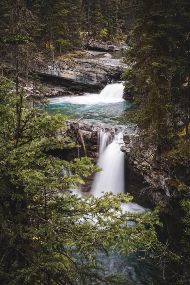 Bike trails around Banff - Johnston Canyon-3