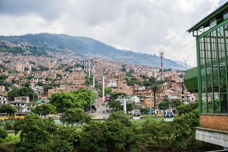 Month 5 recap of our RTW trip - Medellin, Colombia