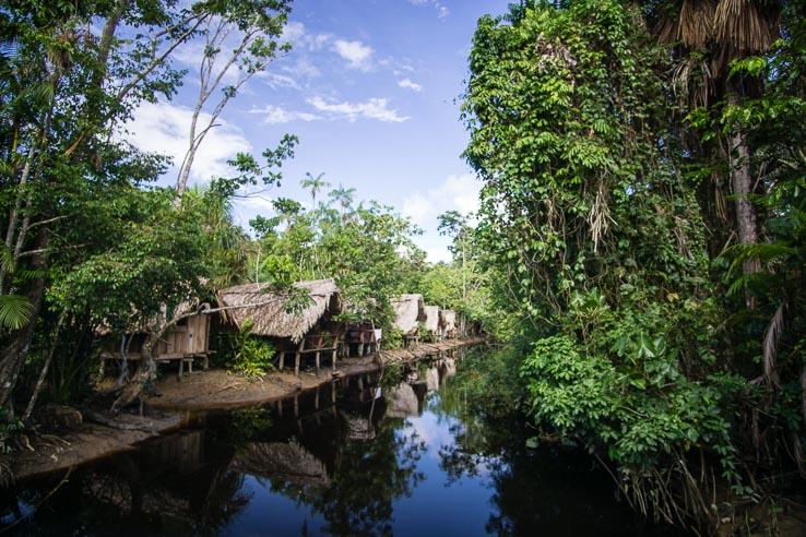 Month 5 recap of our RTW trip - camp in Delta Orinoco, Venezuela