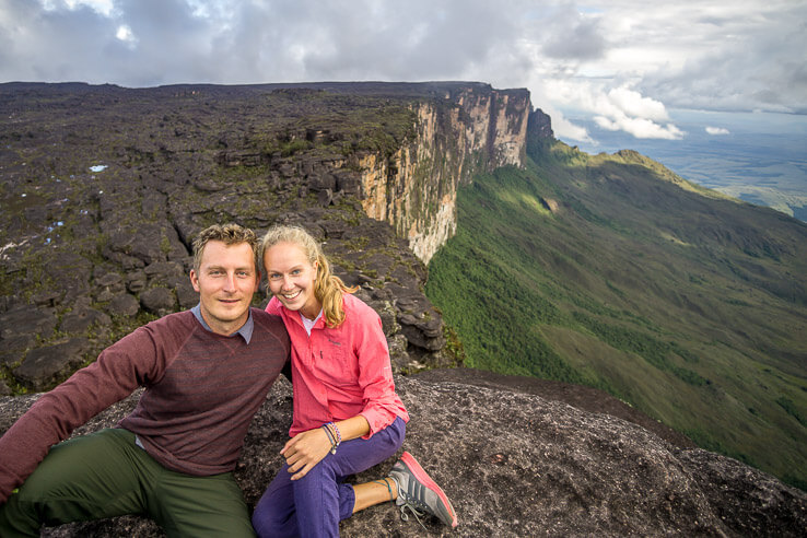 Month 5 recap of our RTW trip - top of Roraima, Venezuela