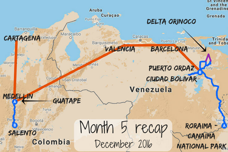 Month 5 recap of our trip around the world