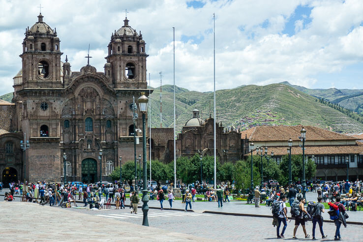 Month 7 recap of our trip around the world - Cusco, Peru