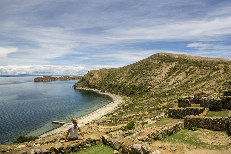 Month 7 recap of our trip around the world - Isla del Sol, Bolivia