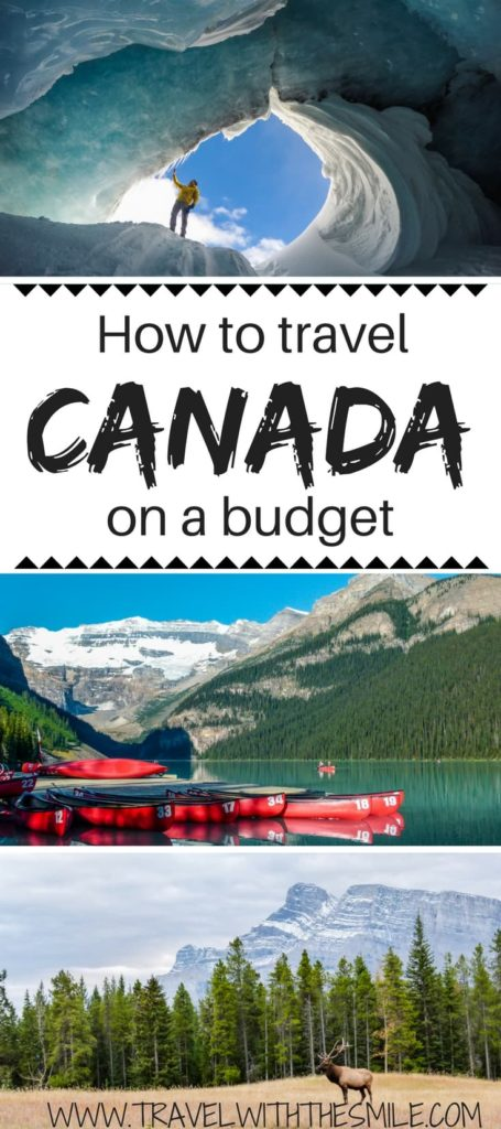 After years of living in Canada we put together the best budget tips for your Canadian trip. This comprehensive travel guide will show you the cheapest way to travel across Canada and much more. | Canada on a budget | How to travel Canada on a budget | budget tips for Canada | Canada travel guide | travel in Canada on a budget | cheap travel in Canada | #Canada #traveltips #canadianrockies