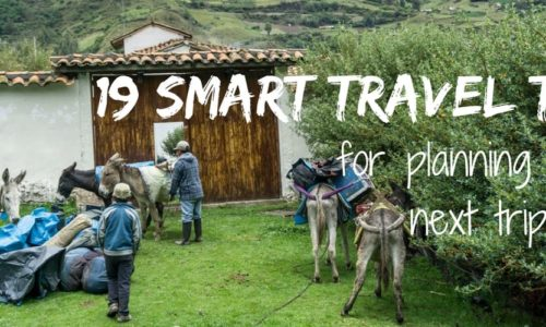 19 smart tips for planning your next trip