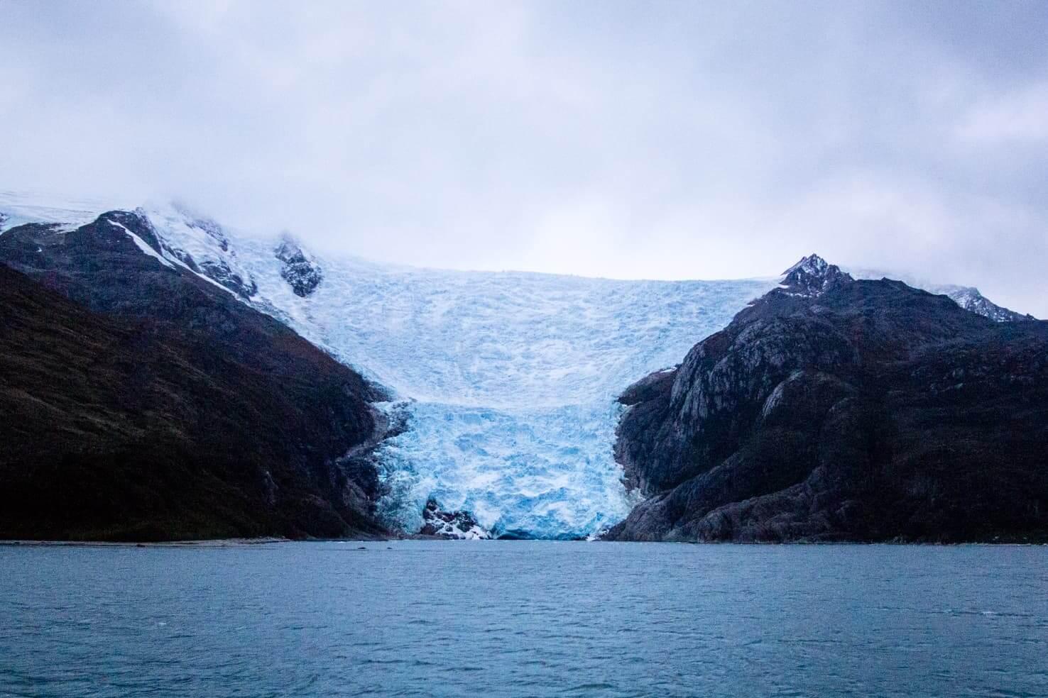 Puerto Williams, Chile - southernmost city in the world - Glacier Italia