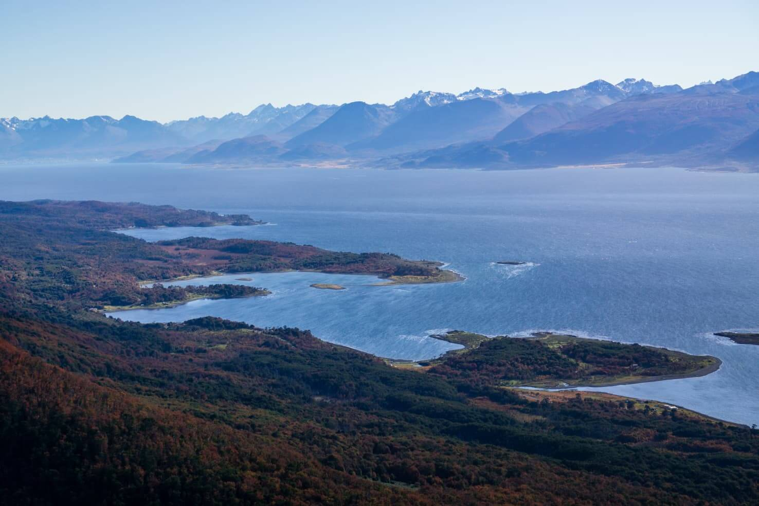 Puerto Williams, Chile - southernmost city in the world - hiking on Cerro Bandero