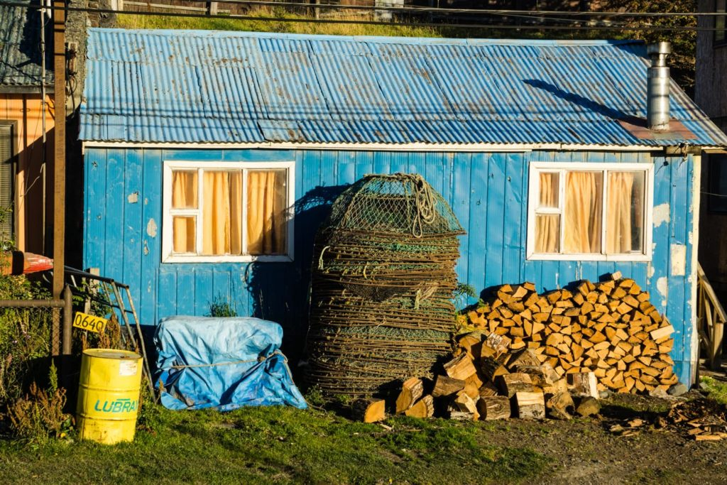 Puerto Williams, Chile - southernmost city in the world - typical house