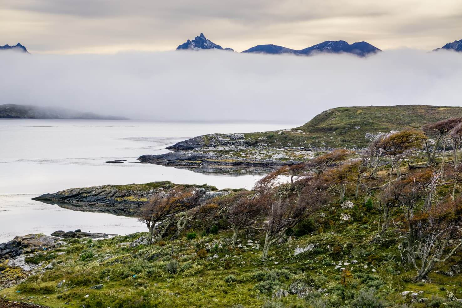 Puerto Williams, Chile - southernmost city in the world - Navarino Island