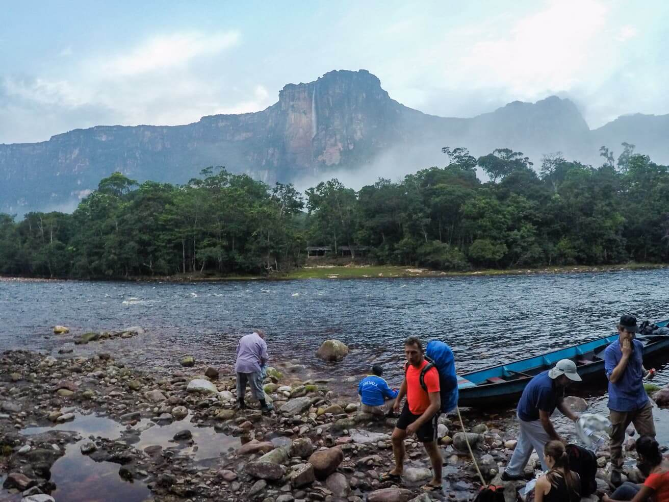 Visiting Angel Falls, Venezuela - the tallest waterfall in the world