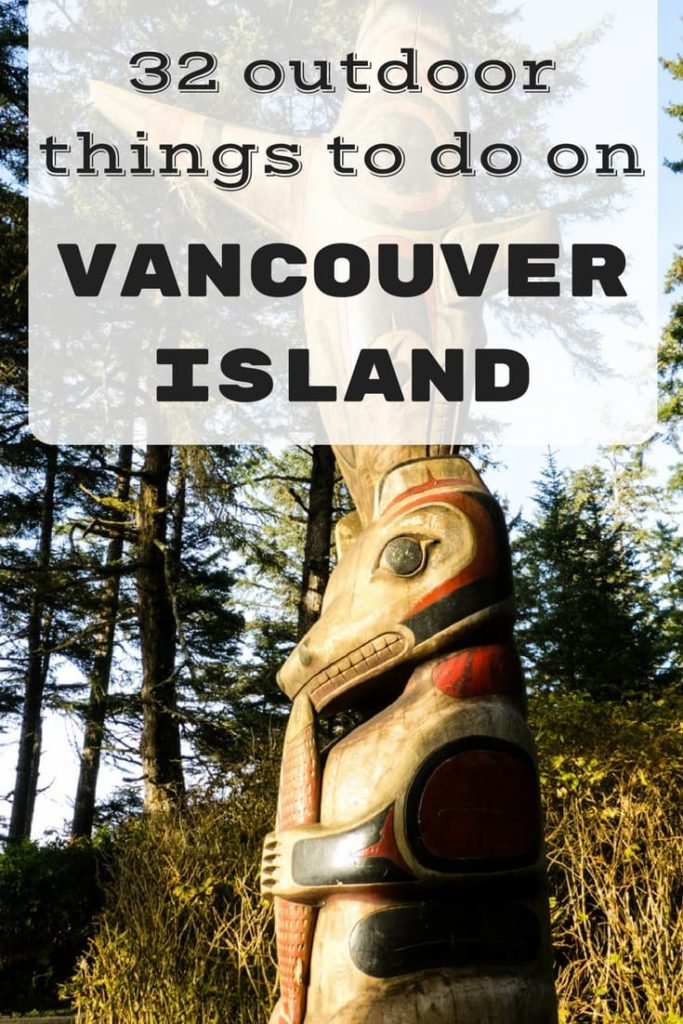 32 outdoor things to do on Vancouver Island pin 1