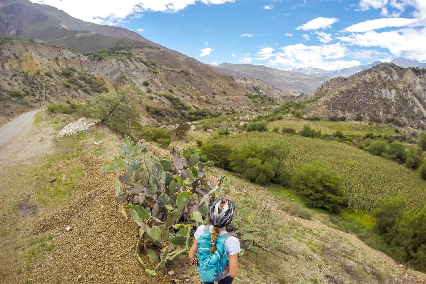 Canon del Pato in Peru - biking one of the world's most dangerous roads
