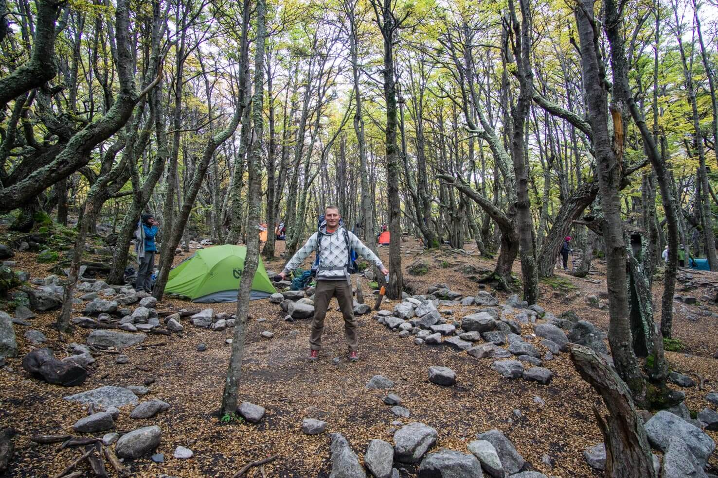 Trekking Torres del Paine W trek Patagonia, Chile