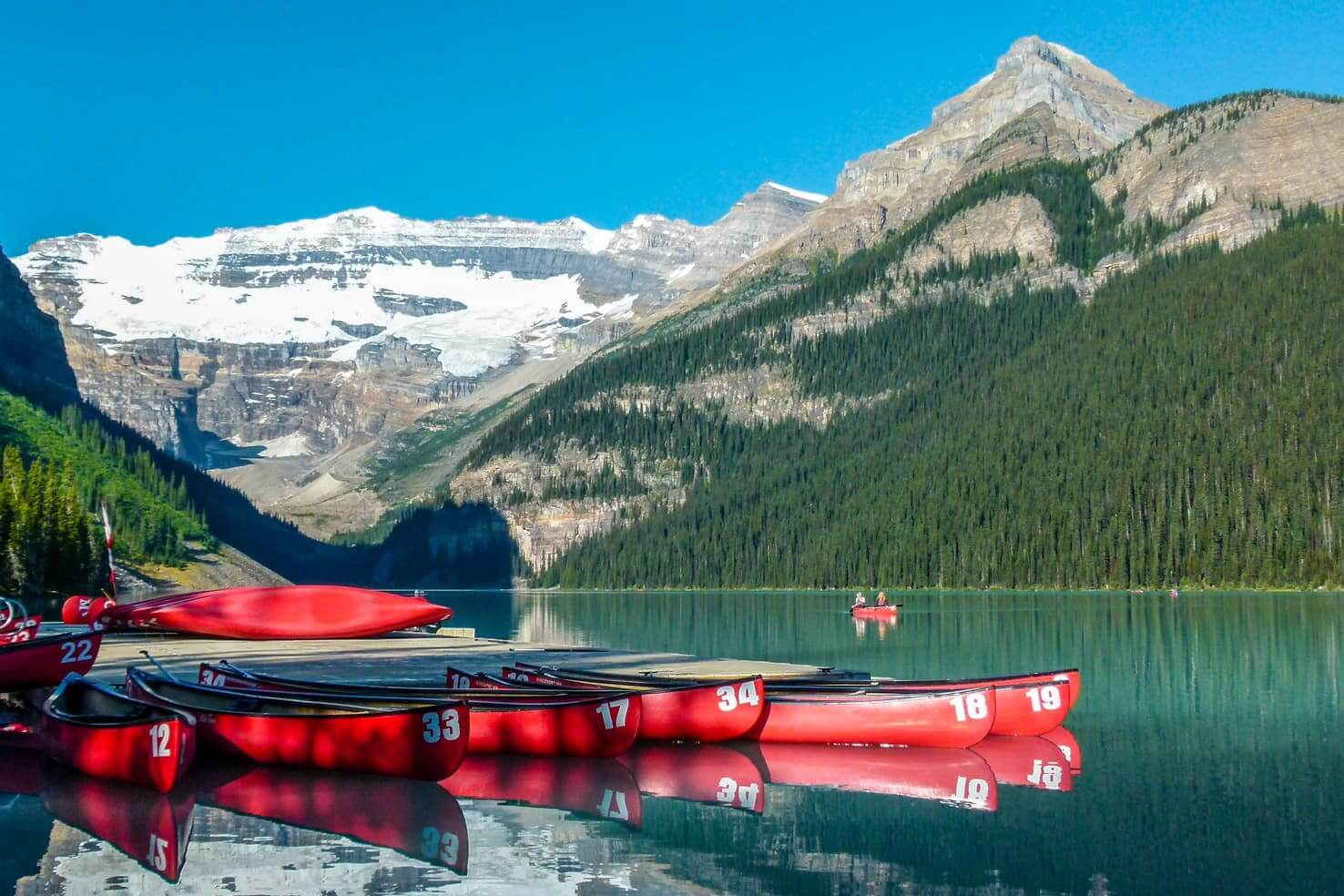 Banff hikes - 20 best hikes in Banff National Park, Canada - Lake Louise