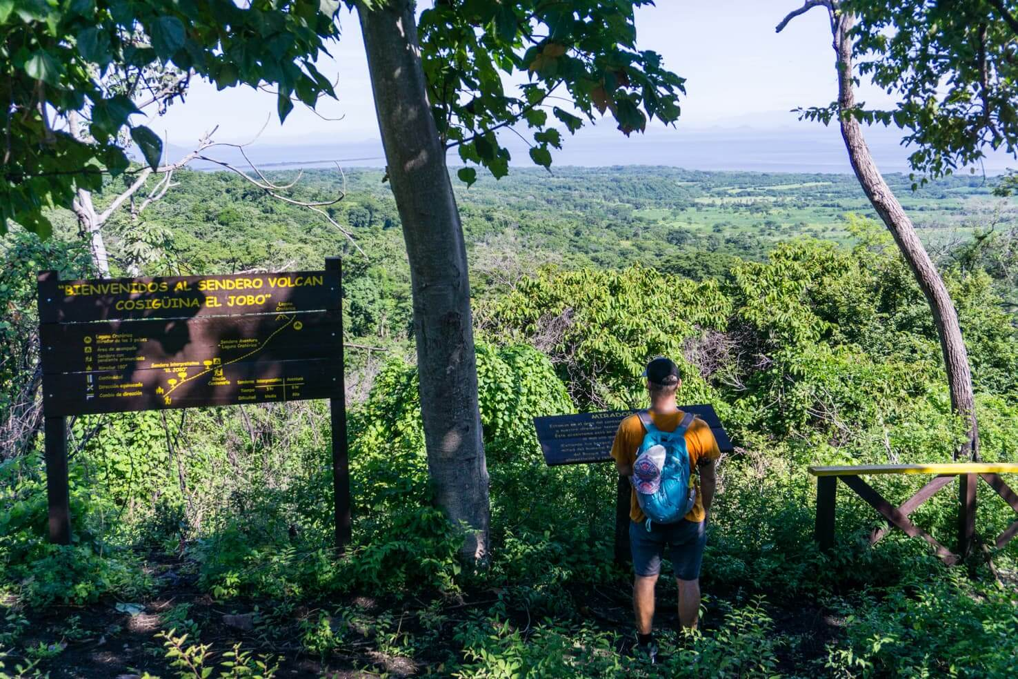 Hiking Volcan Cosiguina in Potosi, Nicaragua
