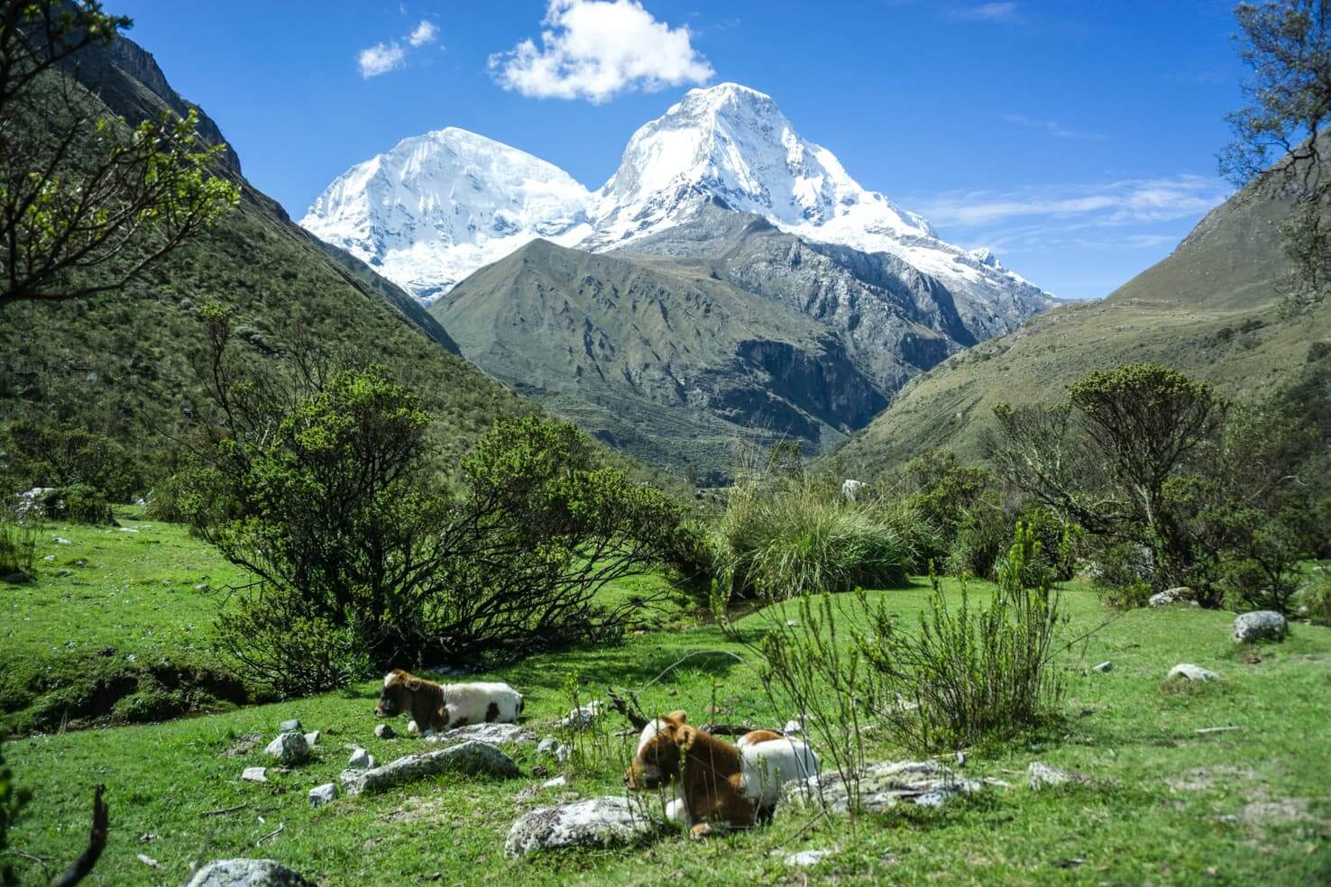 Huaraz, Peru - South American outdoor capital and gateway to Huascaran National Park