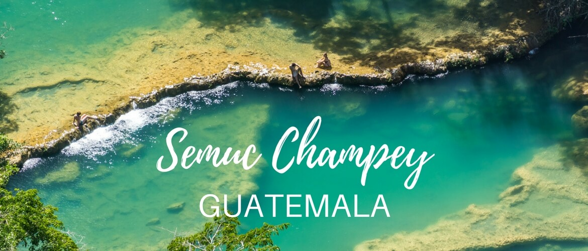 Adventure day at Semuc Champey, Guatemala