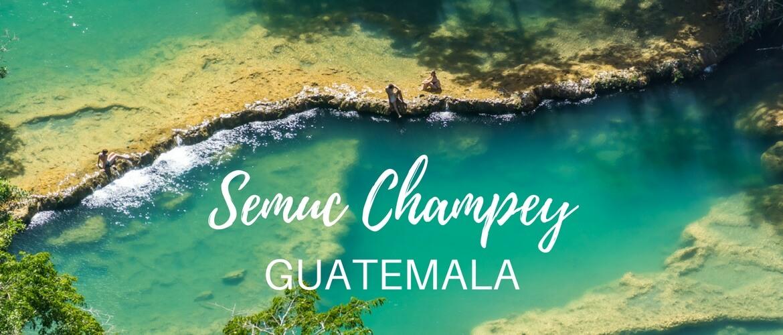 Adventure day at Semuc Champey, Guatemala