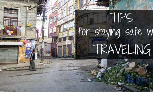 Tips for staying safe while traveling