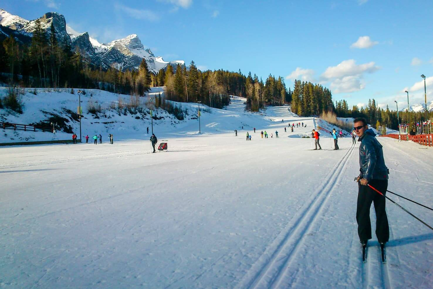 100 best things to do in Banff National Park, Canada - Bike or cross country ski in Canmore Nordic Centre