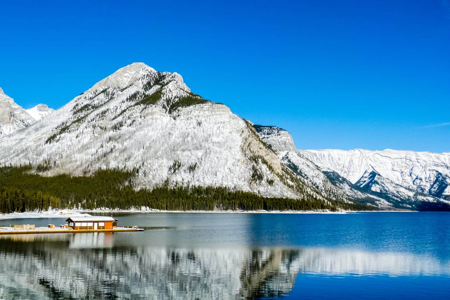 100 best things to do in Banff National Park, Canada - Go boating across Lake Minnewanka