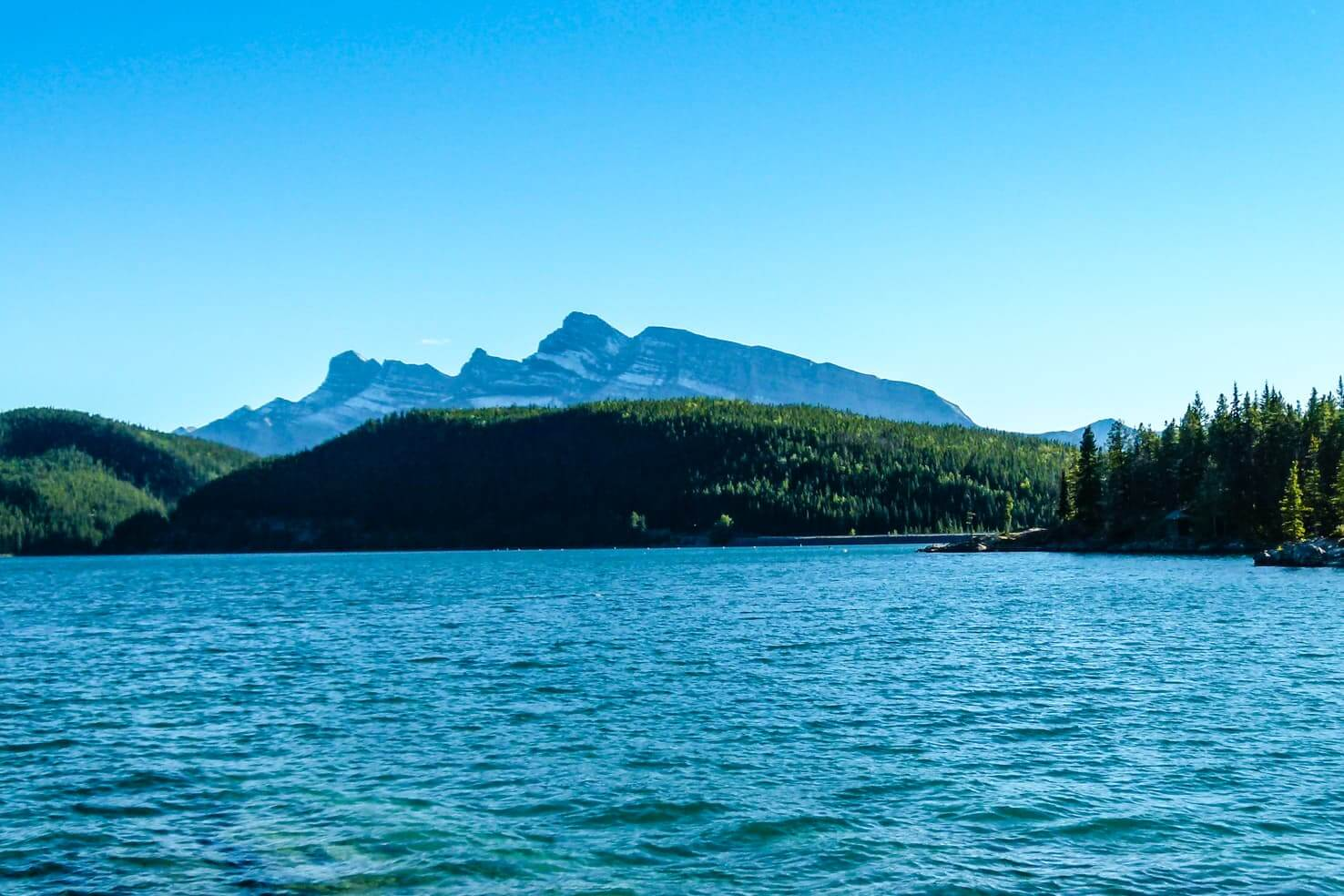 100 best things to do in Banff National Park, Canada - Go scuba diving at Lake Minnewanka