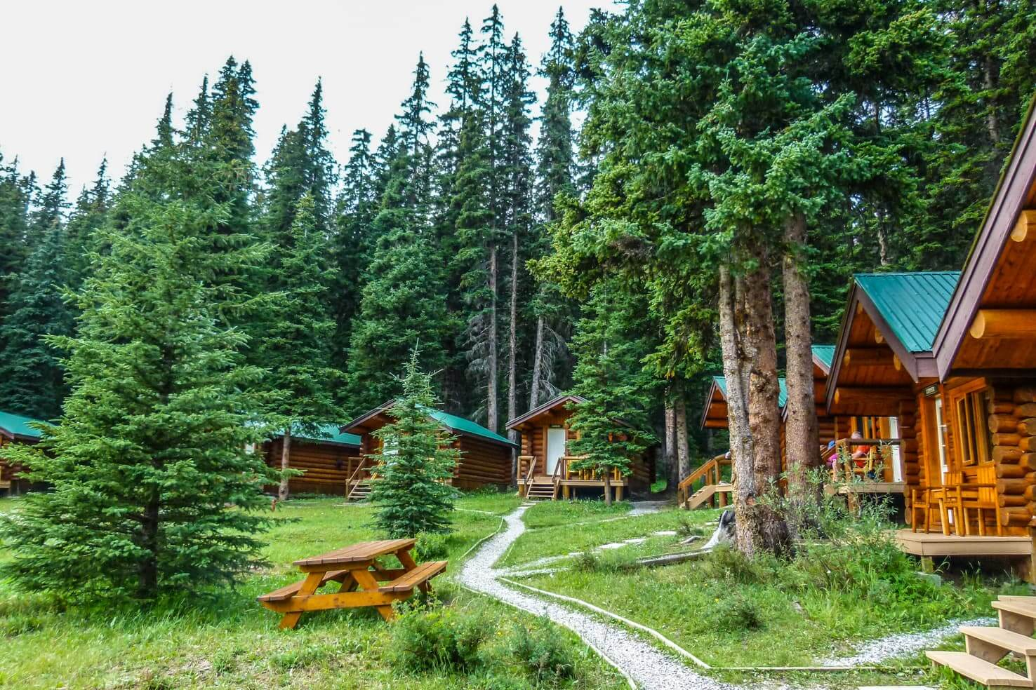 100 best things to do in Banff National Park, Canada - Hike & stay in cabins at Shadow Lake_