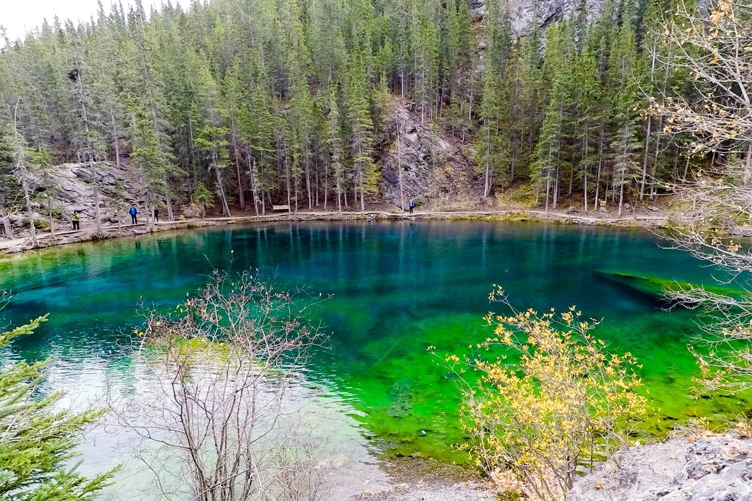 100 best things to do in Banff National Park, Canada - Hike to Grassi Lakes