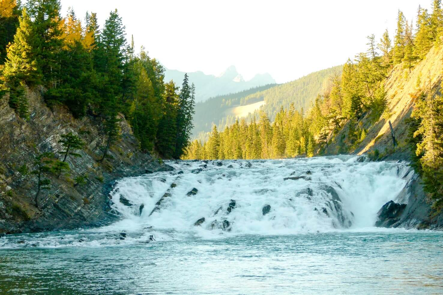 100 best things to do in Banff National Park, Canada - Ride the waves of Bow River