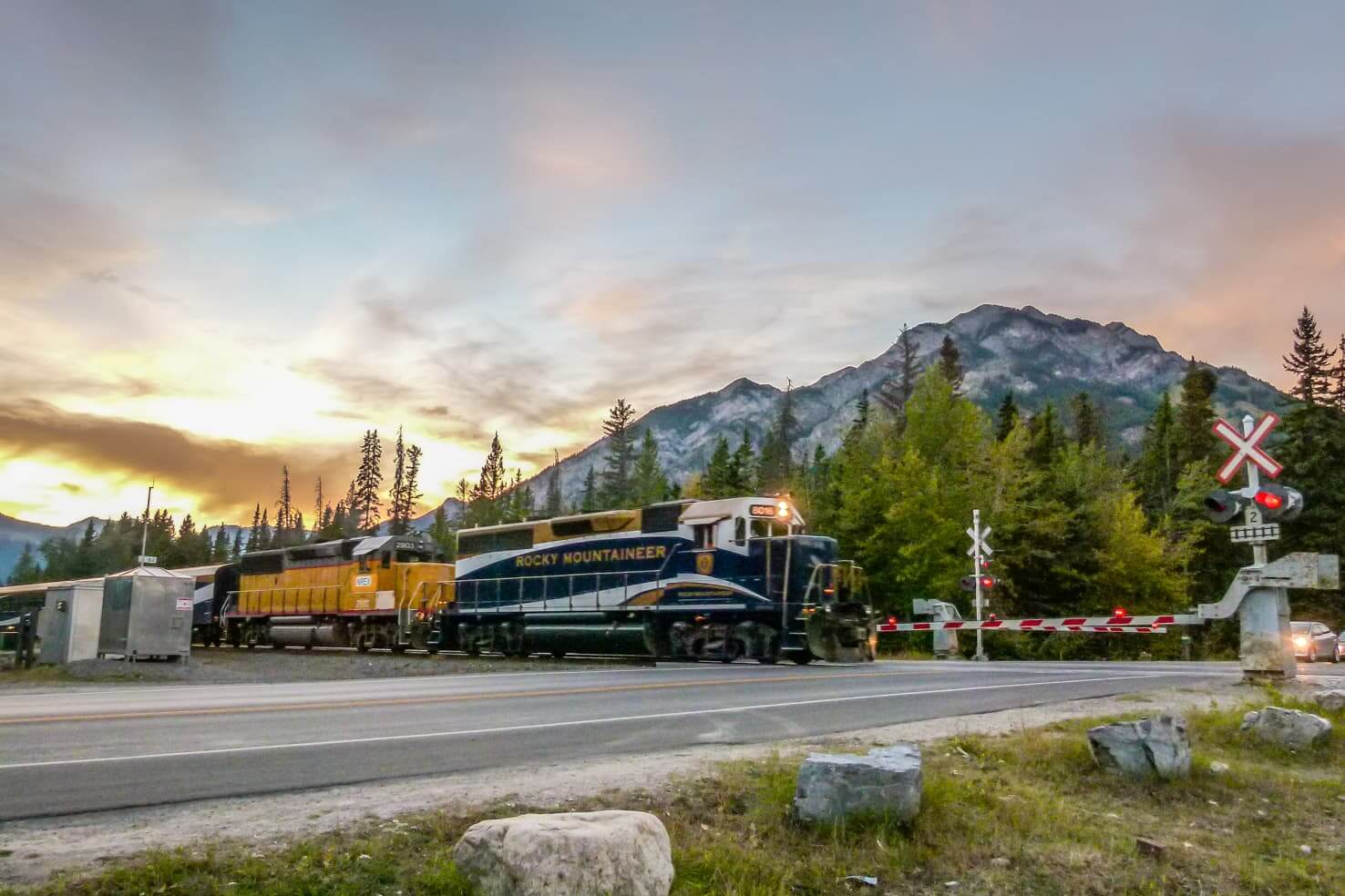 100 best things to do in Banff National Park, Canada - See the Rocky Mountaineer train