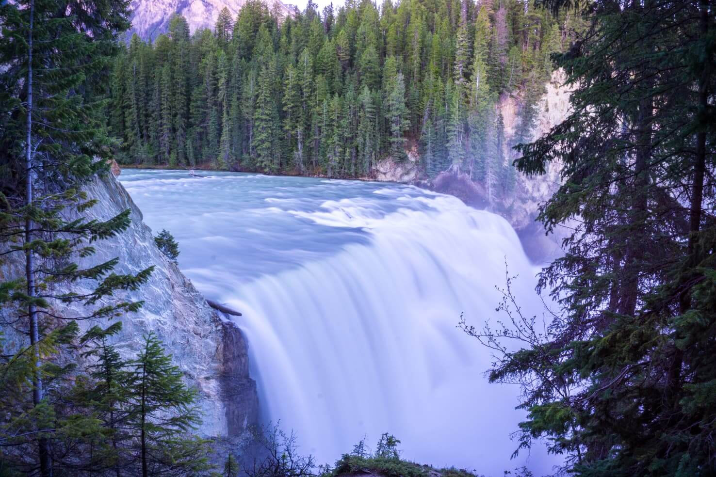 100 best things to do in Banff National Park, Canada - See the Wapta Falls