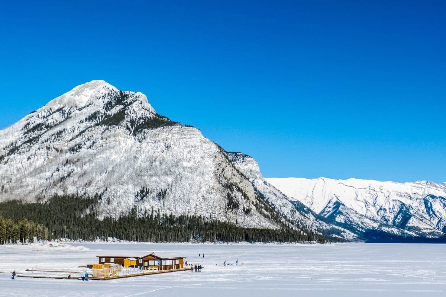 100 best things to do in Banff National Park, Canada - Snow shoeing around Banff & Lake Louise