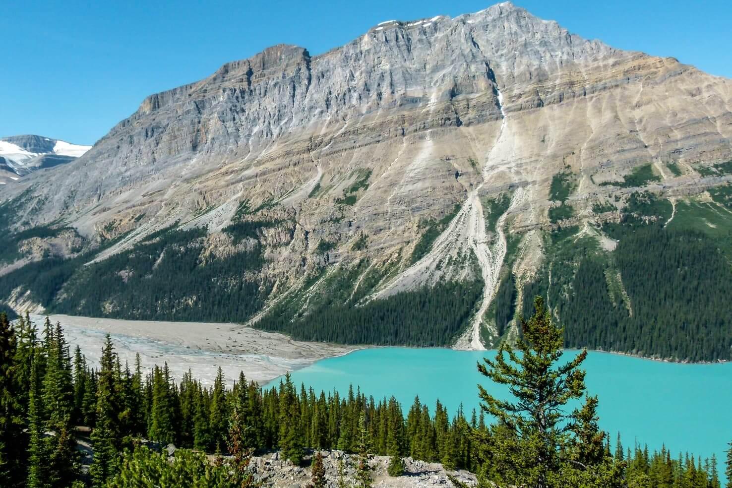 Peyto Lake, Canada - photoshopped or real