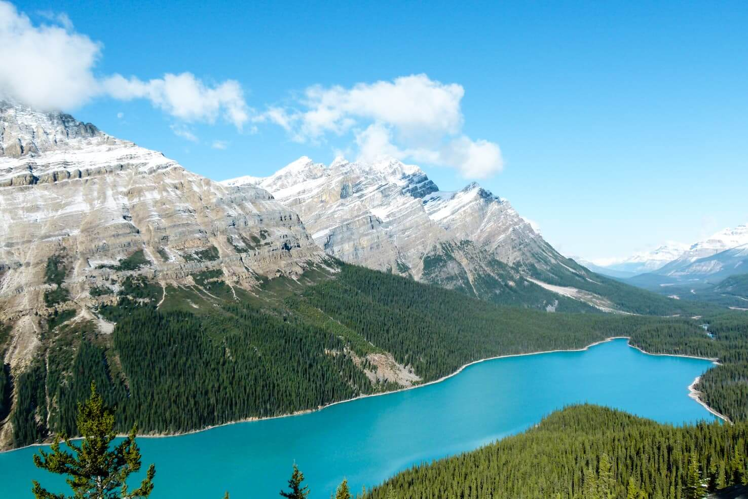 Peyto Lake, Canada - photoshopped or real