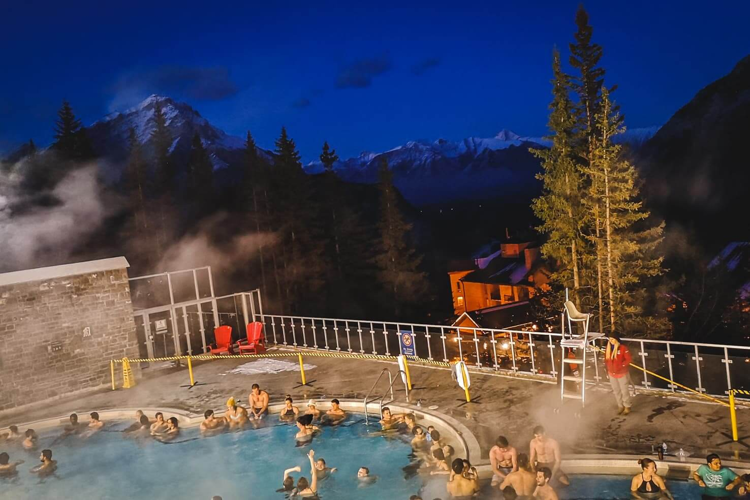 100 things to do in Banff National Park, Canada - Upper Hot Springs in Banff